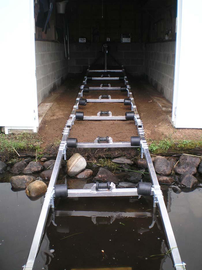 DDA-1000; Aluminum Boat Ramp.