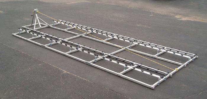 DDA-2500; 26-1/2 ft. Pontoon Ramp, Side view2