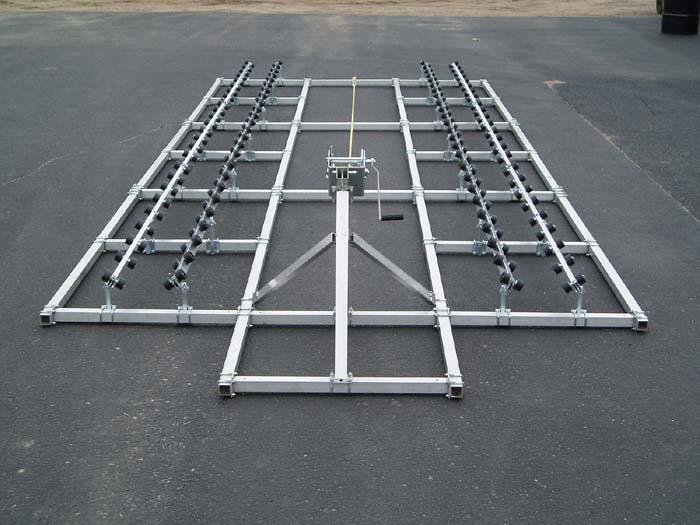 DDA-2500; 26-1/2 ft. Pontoon Ramp, Winch end view