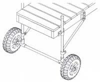 WD-55; Dock Wheel Mounting Kit