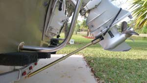 "DETERMINING THE CORRECT ""TRANSOM SAVER""."