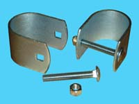 "D-636; 1 Pr. Stabilizer Pipe Clamps, ( For 1-1/2"" Pipe )"