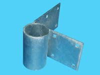 "D3-441; ""Outside Corner Angle Tie"", W/ Pipe Sleeve"
