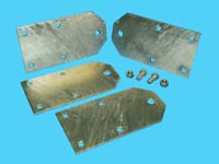 "D3-480; ""Dock Ramp Hinge Kit"" ( for Straight-Layout Ramp )"