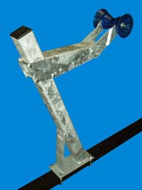 """T-993-G; """"Heavy Duty Winch Stand"""" Assembly"""