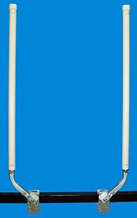 "Boat Lift Post Guide-Ons, BLG-966; 66-78"" Tall ( 1 PAIR )"