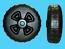 "Dock / Boat Lift Wheels - 24"" (IWP-62)( 1 PAIR )"