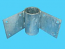 "D3-436; ""Inside Corner Angle Tie"", W/ Pipe Sleeve"
